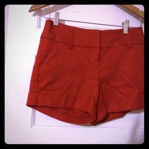Express NWT cinnamon  cuffed dressy shorts